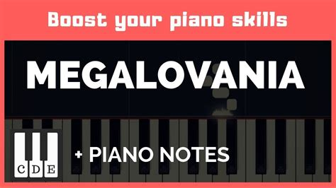 The virtual piano music sheets use plain english alphabet and simple semantics. Megalovania🎹 easy letter notes for piano 🎹 - YouTube