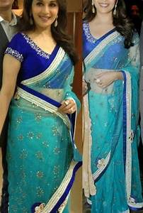 Relaxing Light Color Which Colour Blouse Will Suit Blue Coloured Saree Quora