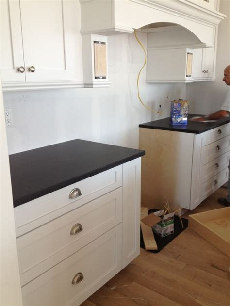 Shaker Cabinet Hardware Placement by Cup Pulls What Is The Proper To Install On A Shaker
