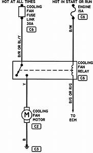 Engine Cooling Fan Relay Diagram