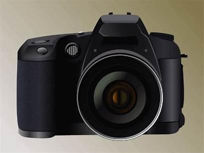 Camera Animated Cameras Gifs Canon Evolution Dslr