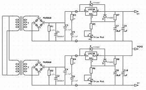 Lm3886 Power Supply Schematic
