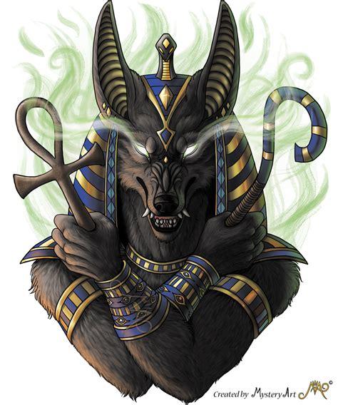 Anubis By Sunima On Deviantart
