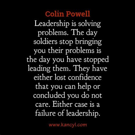 colin powell leadership quote leadership advice good