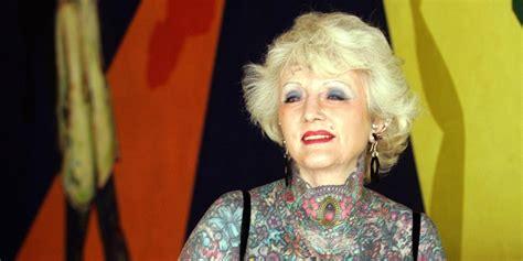 isobel varley world s most tattooed female senior remembered huffpost