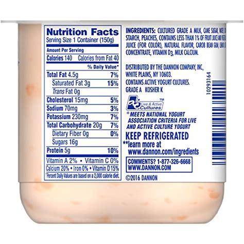 dannon yogurt nutrition information blog dandk