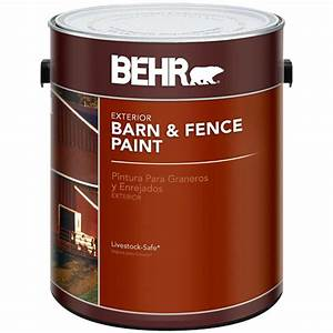 behr 1 gal red exterior barn and fence paint 02501 the With behr barn and fence paint colors
