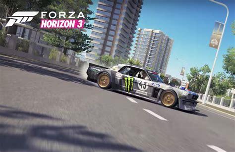 hoonigan mustang suspension forza gets ken block cars with hoonigan car pack video