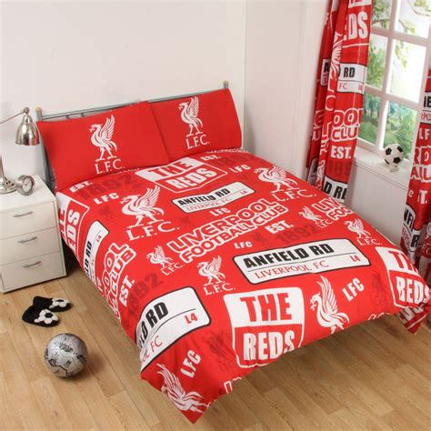 Football Bed by Single And Fc Duvet Cover Bedding Sets Official