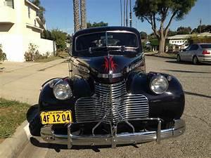 1940 Chevy Master Deluxe 4 Door Street Rod