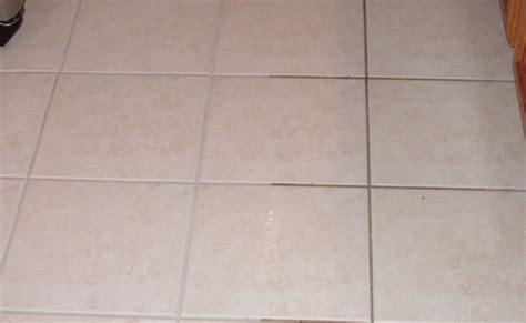 tile floor looks new again