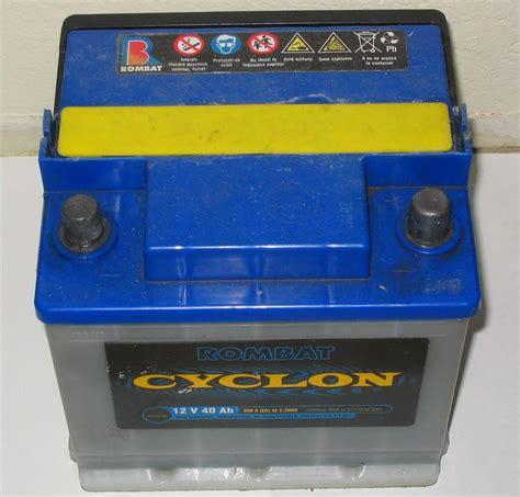 e auto batterie automotive battery