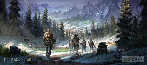 Elder Scrolls Online Concept Art Shows Skyrim Deserts