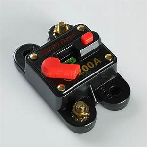 12v Car Auto Boat Audio Fuse High Power 200 Amp Manual