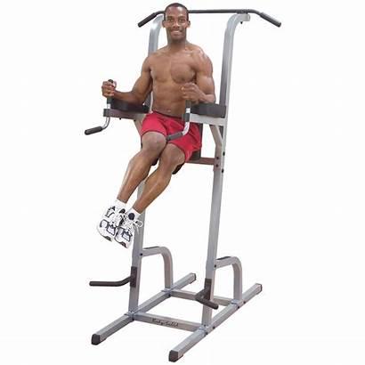 Pull Knee Raise Vertical Dip Solid