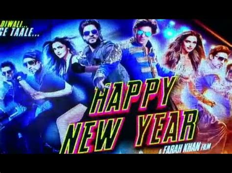 2014 happy new year hindi movie song on you tube quot happy new year quot shahrukh khan deepika padukone song quot sharabi quot released events 2014