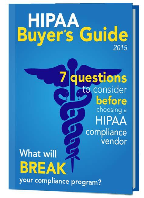 buyers guide  hipaa compliance