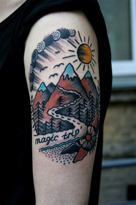 inspiring nature inspired tattoo designs  nature lover