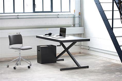 bureau ajustable bureau minimaliste xtable à hauteur ajustable