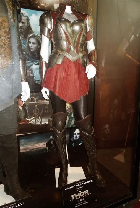 Original Battle Armour Costume Worn By Jaimie Alexander As