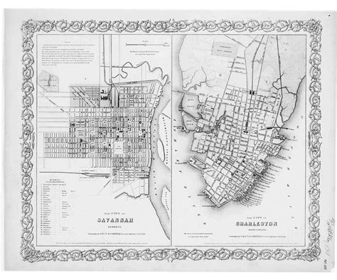 historic charleston maps