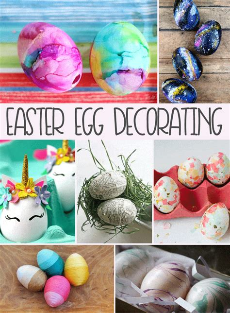 easter egg decorating ideas domestically speaking