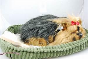 Yorkie Perfect Petzzz Life Like Stuffed Animal Breathing Dog