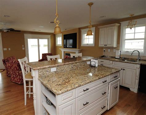 granite counter tops  beautiful kitchen island