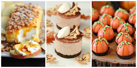 fall recipe ideas 35 easy fall dessert recipes best treats for autumn parties