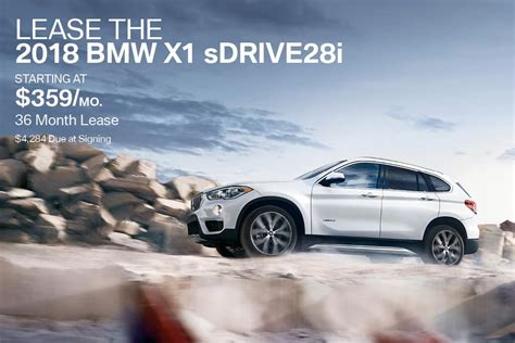 New 2018 Bmw X1 Price & Lease Offer