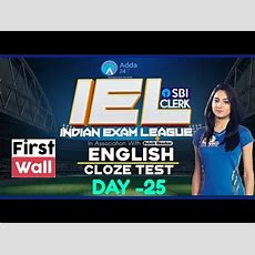Sbi Clerk Pre 80 Day Study Plan  Cloze Test By Anchal Mam  D25  Iel  First Wall Youtube