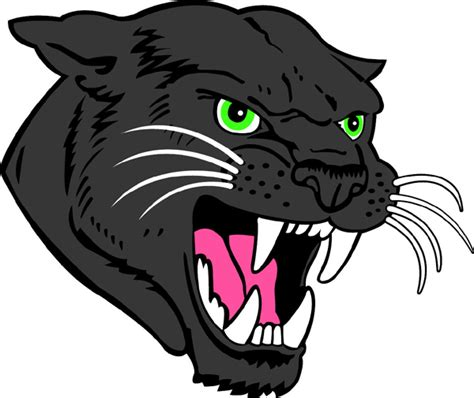 panther head drawing