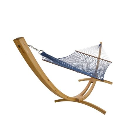 wooden hammock stand larch wooden arc hammock stand dfohome