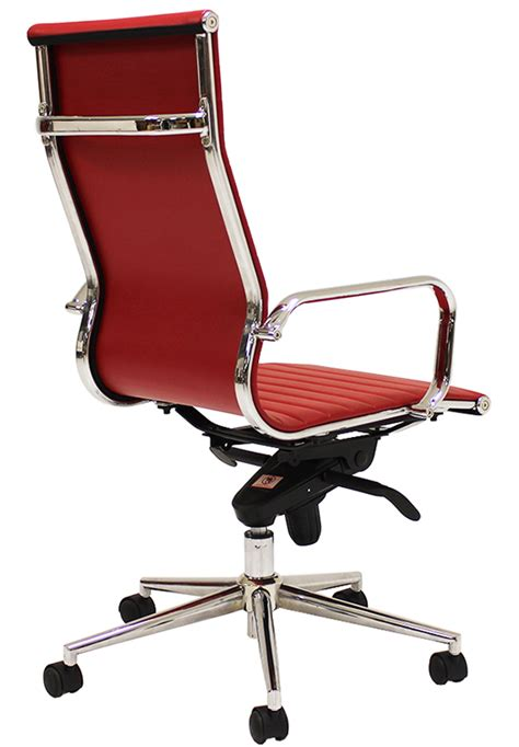 modern classic high  office chair  stock