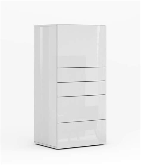 meuble de cuisine blanc brillant secretaire galleria blanc brillant