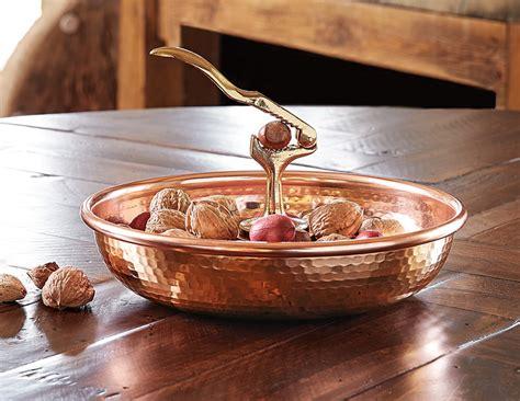 italian copper nutcracker bowl   cool