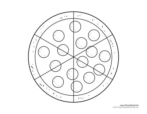 pizza clipart black and white pizza coloring pages