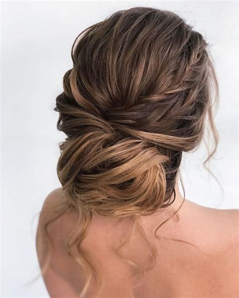 gorgeous chignon wedding hairstyledouble loose dutch