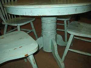 Awesome Round Dining Table Distressed Wood - Light of