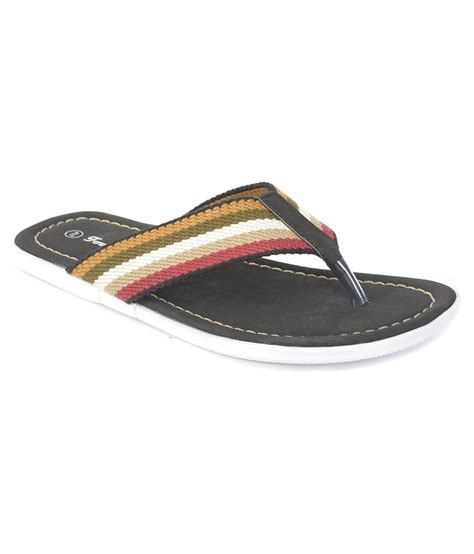 Sleeper For Mens by Buy Footwings Black Casual Sleeper For Snapdeal