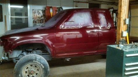sell   toyota pickup  extended cab custom