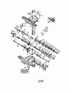 Peerless Transaxle Diagram  U0026 Parts List For Model