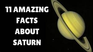 Saturn Facts and Information | 11 Interesting Facts About ...