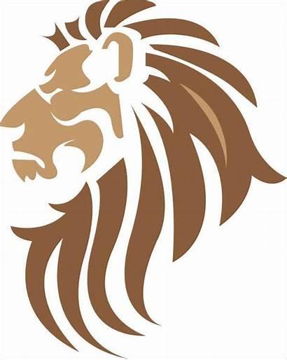 Lion Vector Template Silhouette Vectors Svg Templates