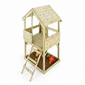 Cabane Exterieur Enfant : cabane enfant en bois woodplay ~ Melissatoandfro.com Idées de Décoration