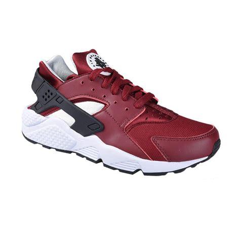 jual nike air huarache sepatu olahraga pria merah 318429