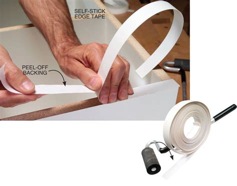 self adhesive cabinet edging tape the ultimate guide to woodworking with melamine