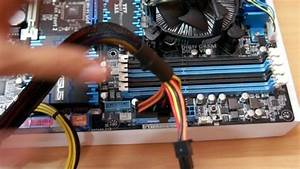 Connecting Smps Installing Ram Ssd On Your Motherboard