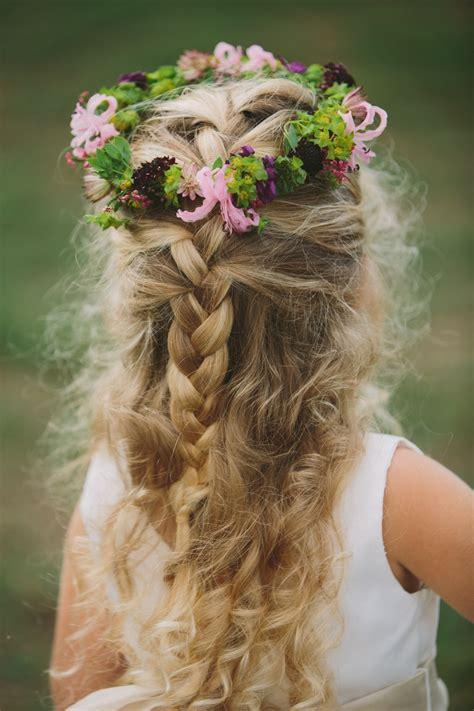 images  flower girl hair  pinterest updo