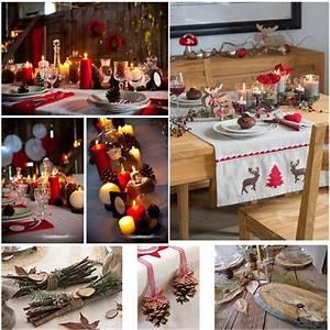 Table De Noel Traditionnelle : id e tendance montagne traditionnel d co table f te ~ Melissatoandfro.com Idées de Décoration
